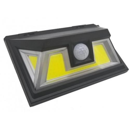 для сада и дачи - LED настенный светильник на солнечной батарее VARGO 10W COB чер. 000000593 - Фото 2