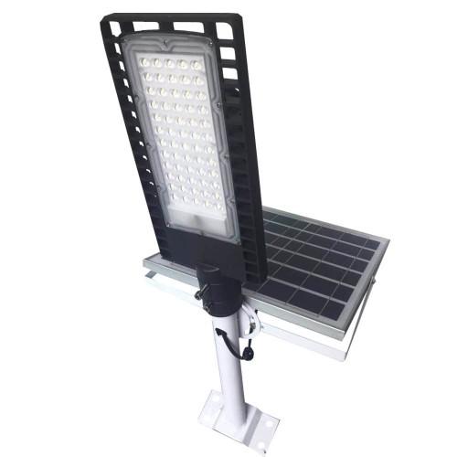 на столбы - Уличный фонарь на солнечной батарее 100W 6500К с выносной панелью VARGO 000000612 - Фото 3