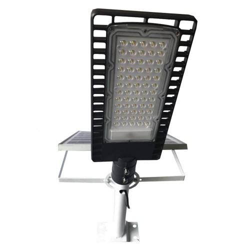 на столбы - Уличный фонарь на солнечной батарее 100W 6500К с выносной панелью VARGO 000000612 - Фото 2