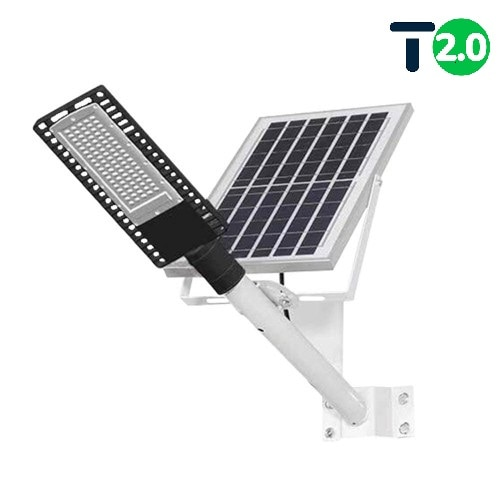 на столбы - Уличный фонарь на солнечной батарее 100W 6500К с выносной панелью VARGO 000000612 - Фото 1