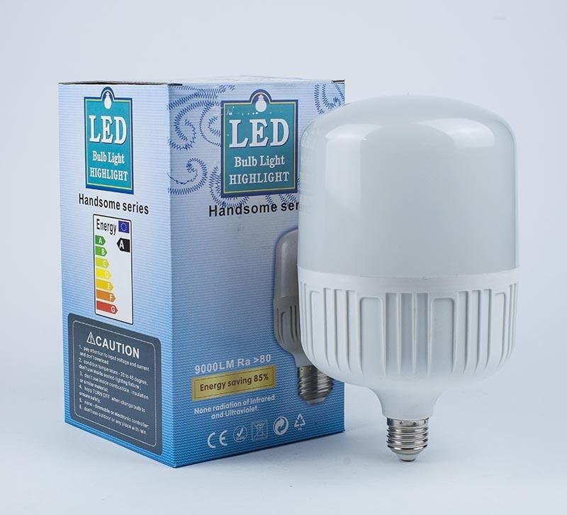 Лед лампы высокомощные - Лампа высокомощная LED 40Вт 5000К Е27 000000216 - Фото 2