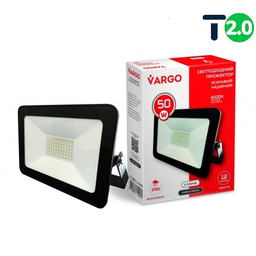 Светодиодное освещение - Прожектор светодиодный 50W VARGO 4500lm 000000552 - Фото 1
