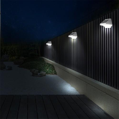 для сада и дачи - LED настенный светильник на солнечной батарее VARGO 4LED 000000595 - Фото 5