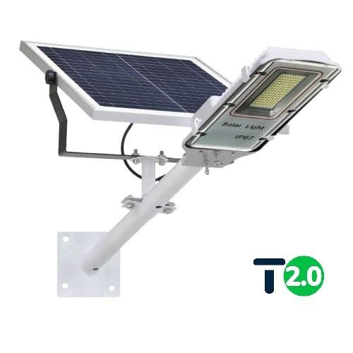 на столбы - Уличный фонарь на солнечной батарее 60W 6500К с выносной панелью VARGO 000000611 - Фото 1