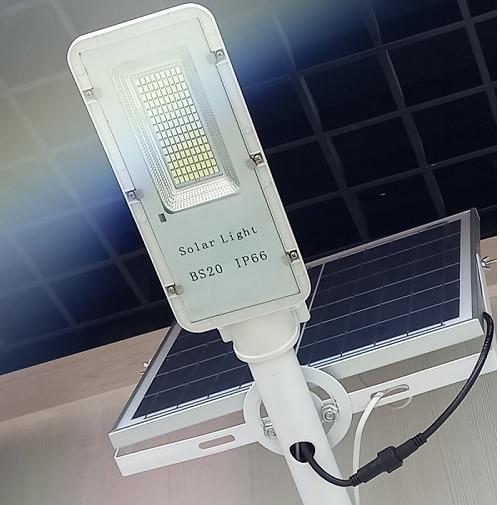 на столбы - Уличный фонарь на солнечной батарее 60W 6500К с выносной панелью VARGO 000000611 - Фото 3
