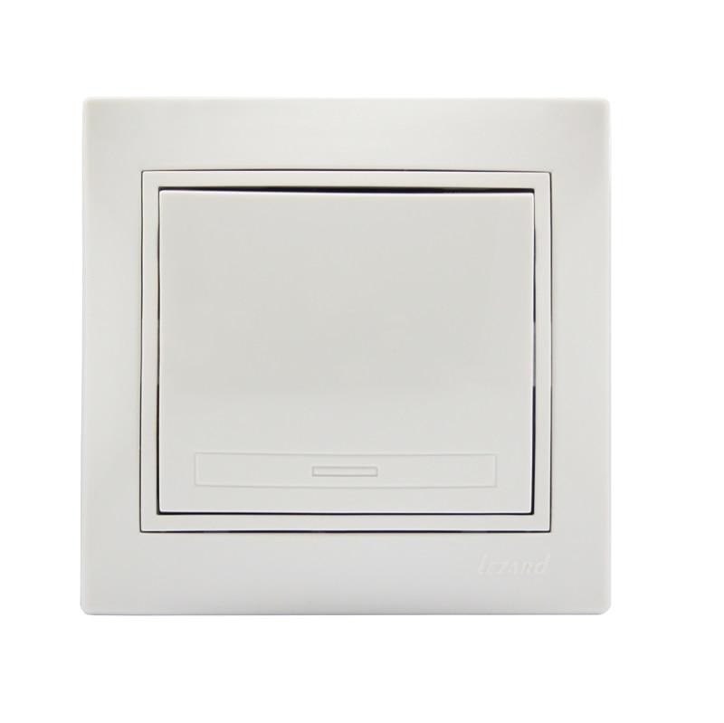 Розетки і вимикачі - Выключатель одинарный Lezard серия Mira 000000623 - Фото 1
