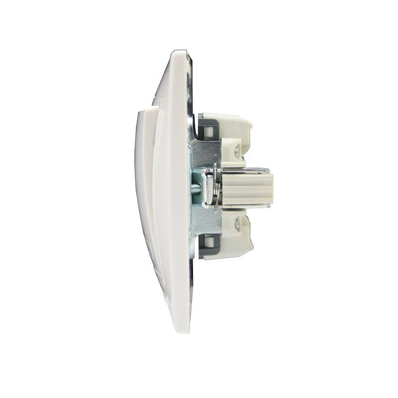 Розетки і вимикачі - Выключатель с подсветкой Lezard серия Mira 000000637 - Фото 2