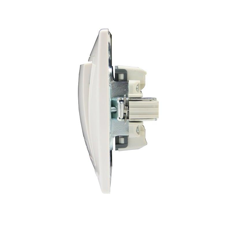 Розетки і вимикачі - Выключатель одинарный Lezard серия Mira 000000623 - Фото 2