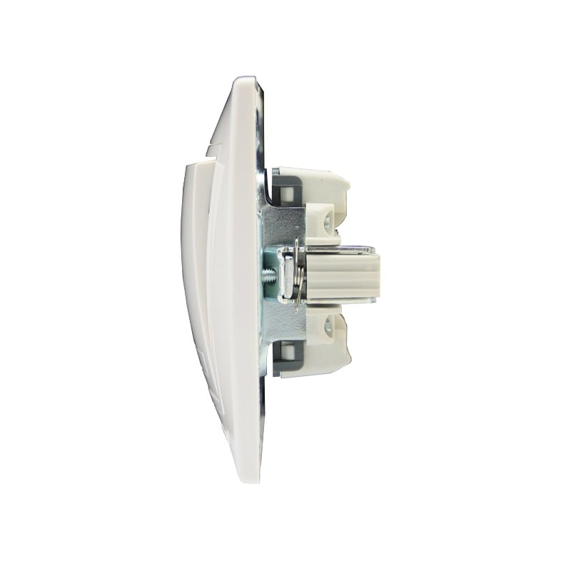 Розетки і вимикачі - Выключатель проходной с подсветкой Lezard серия Mira 000000641 - Фото 2