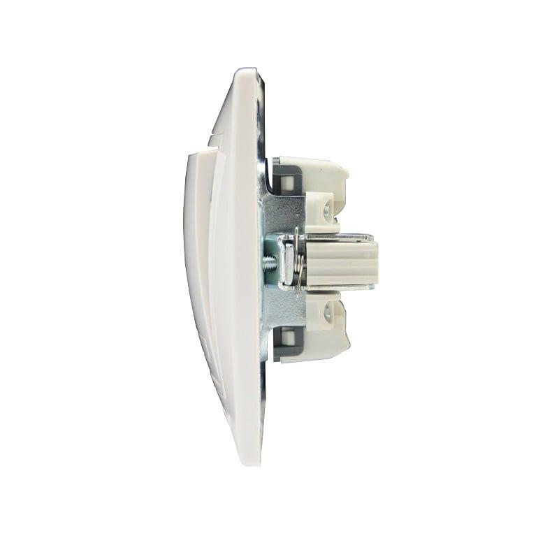 Розетки і вимикачі - Выключатель проходной двойной Lezard серия Mira 000000634 - Фото 2