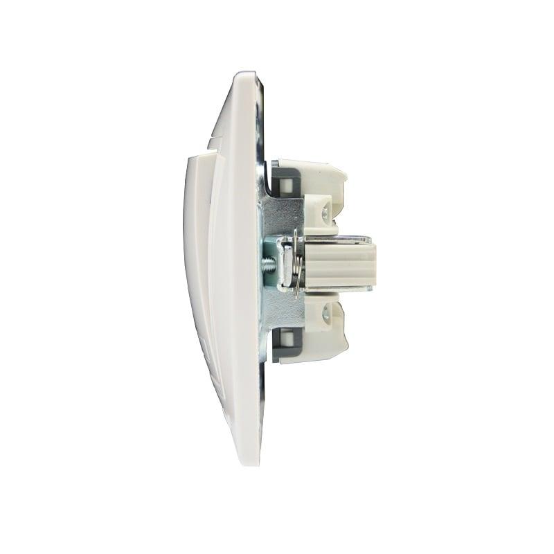 Розетки і вимикачі - Выключатель промежуточный Lezard серия Mira 000000635 - Фото 2