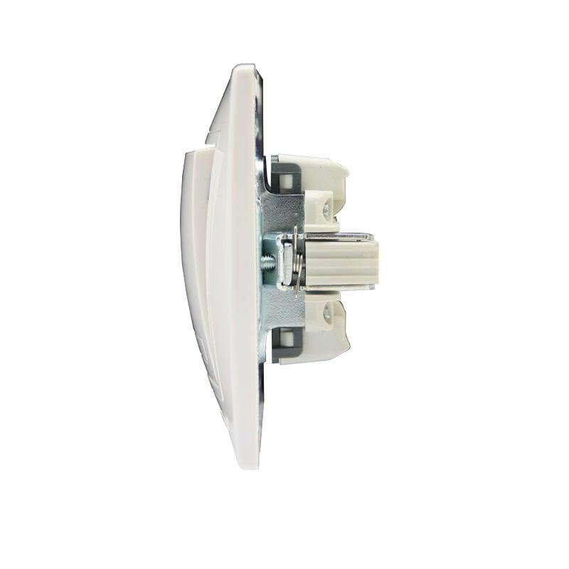 Розетки і вимикачі - Выключатель тройной Lezard серия Mira 000000636 - Фото 2
