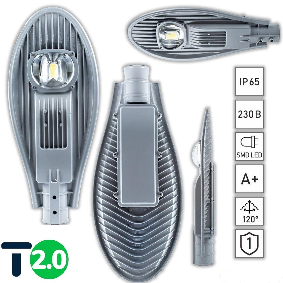 Уличные LED светильники - Лед фонарь уличный 50Вт STANDARТ 000000277 - Фото 4