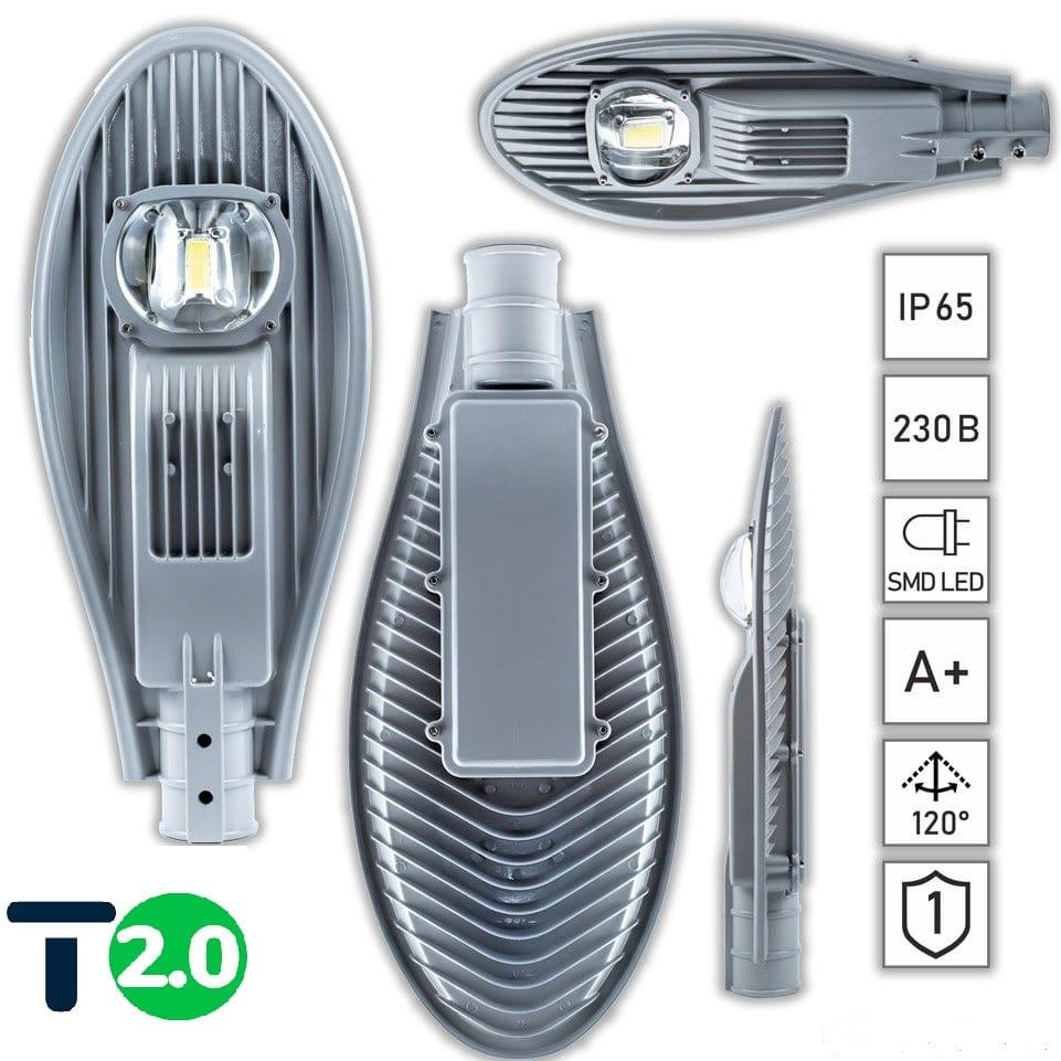 Уличные LED светильники - Лед фонарь уличный 30Вт STANDARТ 000000271 - Фото 5