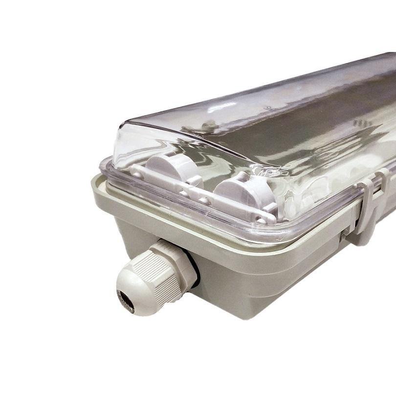 Пылевлагозащищенные светильники и корпуса IP65 - Светильник промышленный LED LFB 2*600 T8 Slim (корпус без ламп ЛПП 2х600)000000393 - Фото 1
