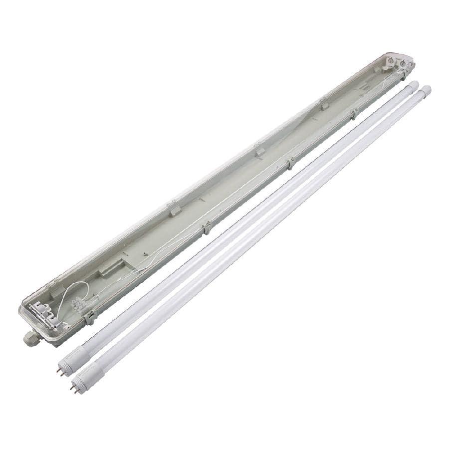 Пылевлагозащищенные светильники и корпуса IP65 - Светильник промышленный LED LFB 2*1200 T8 Slim  (корпус без ламп ЛПП 2х1200) 000000390 - Фото 2