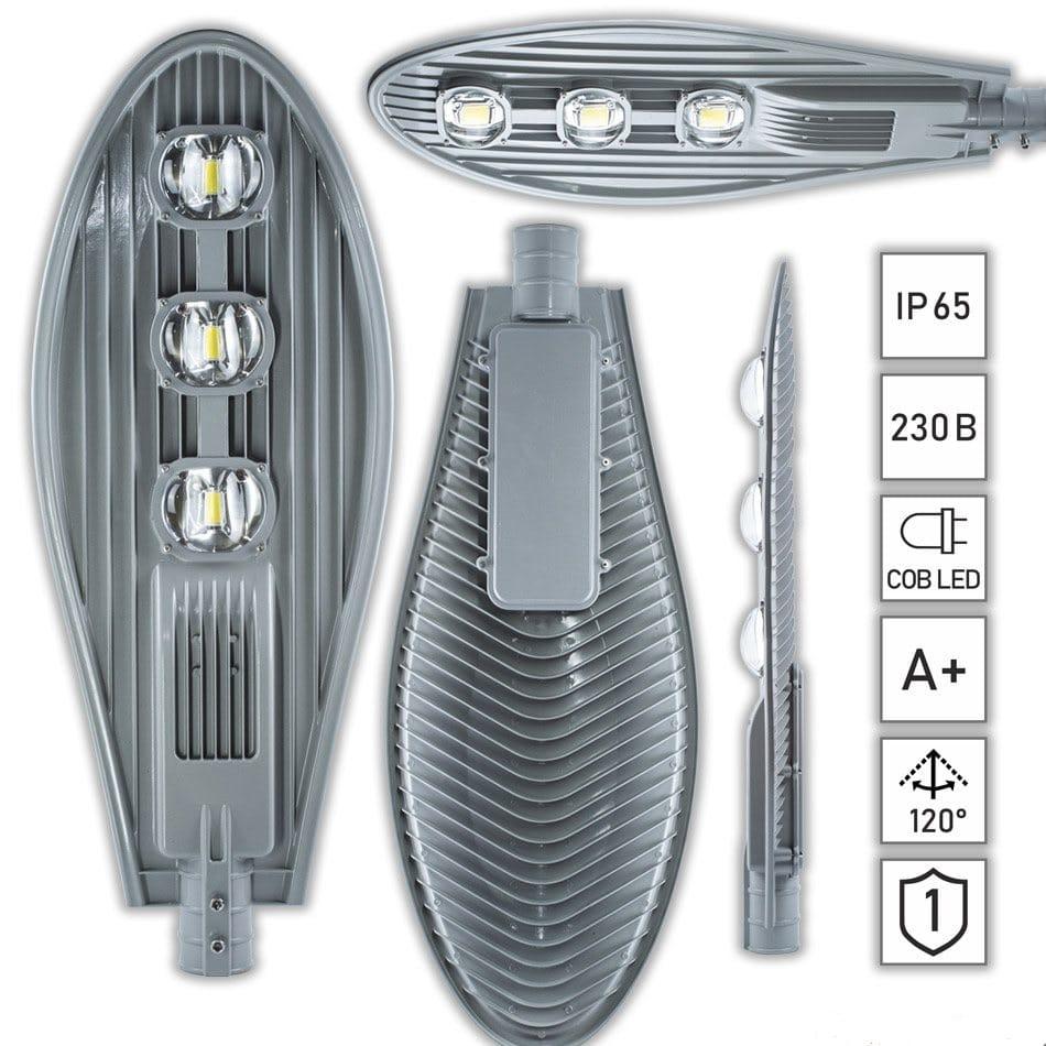 Уличные LED светильники - Фонарь уличный светодиодный 150вт ECO 6500К 000000267 - Фото 1