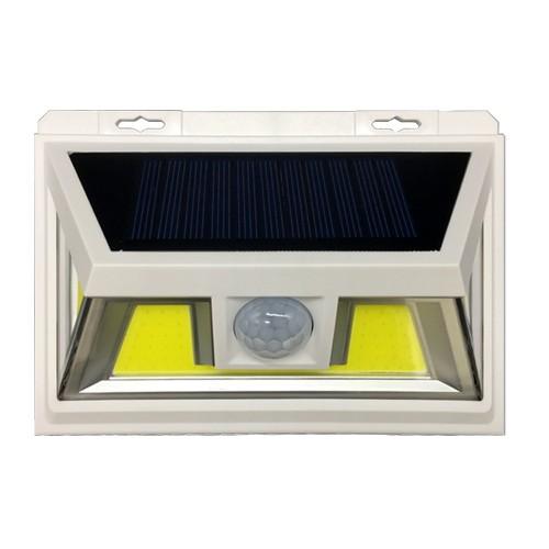 для сада и дачи - LED настенный светильник на солнечной батарее VARGO 10W COB бел. 000000592 - Фото 1
