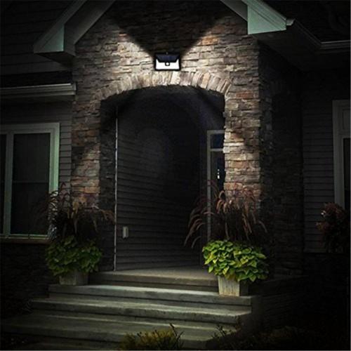 для сада и дачи - LED настенный светильник на солнечной батарее VARGO 10W COB бел. 000000592 - Фото 5