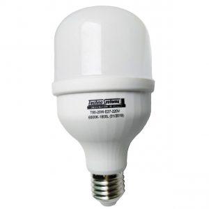Лед лампы высокомощные - Лампа светодиодная LED Bulb-T80-20W-E27-220V-6500K-1800L ICCD 000000470 - Фото 1