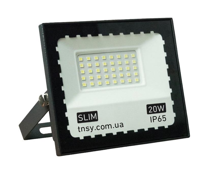 Светодиодное освещение - Лед прожектор 20W TNSy 180-260V IP65 SMD 000000441 - Фото 1
