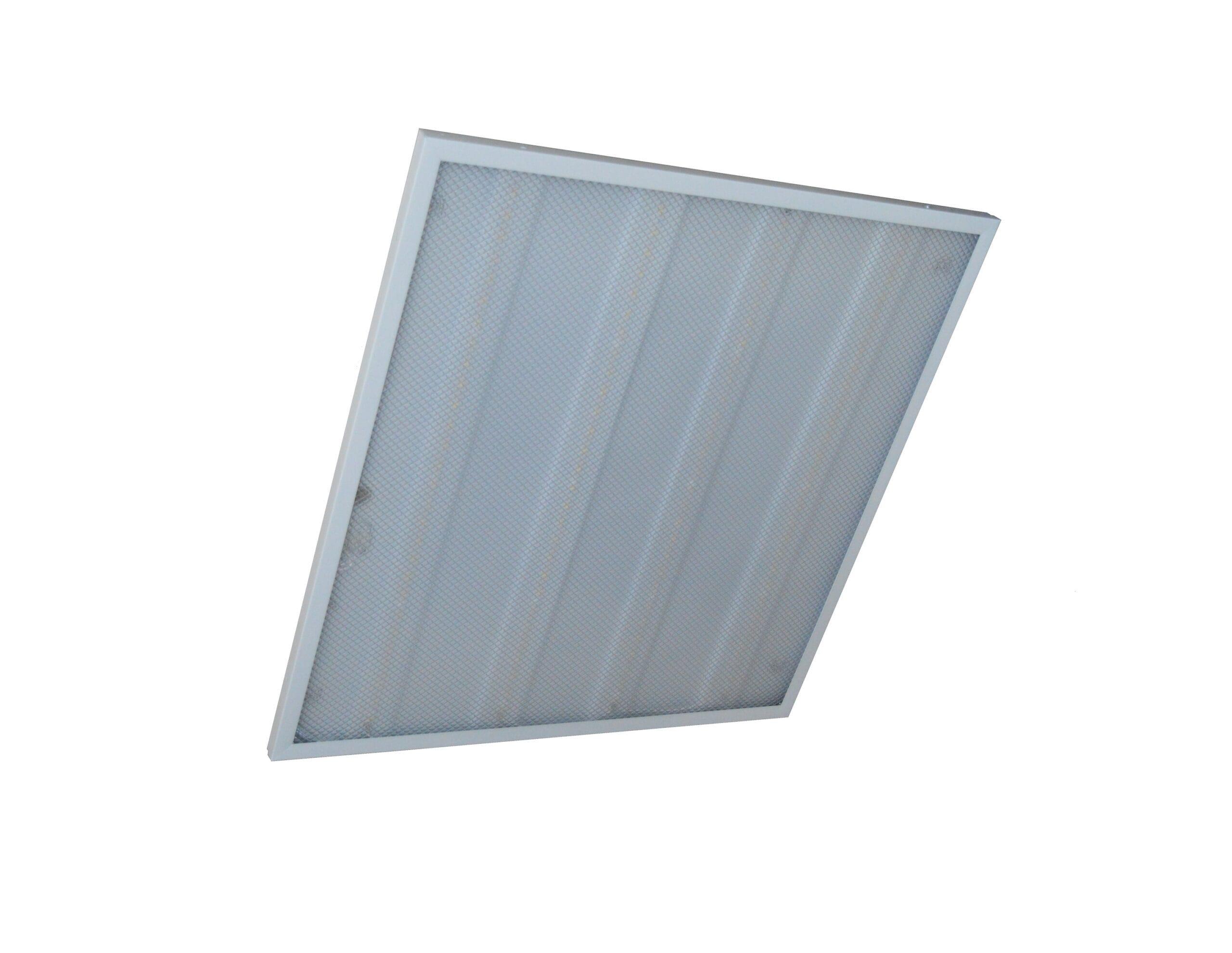 LED панели и растровые светильники - Светильник призматик 36W 4000K IP20 000000463 - Фото 3