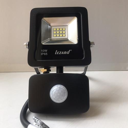 Светодиодное освещение - Прожектор с датчиком движения 10Вт Lezard 000001130 - Фото 2