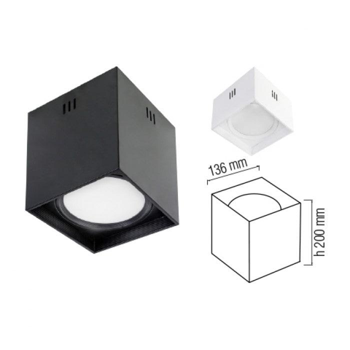 Даунлайты - Светодиодный светильник SANDRA-SQ10/XL  белый 000001177 - Фото 2