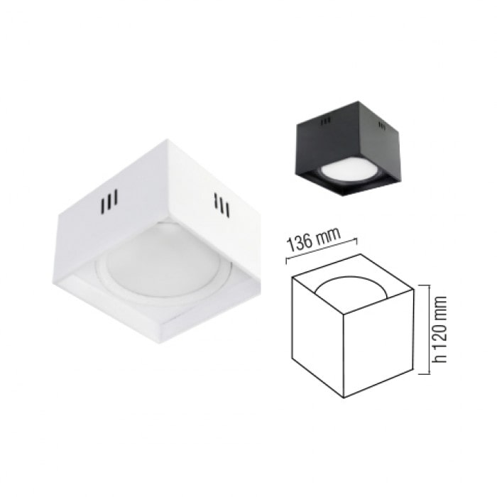 Даунлайты - Светодиодный светильник SANDRA-SQ10  белый 000001171 - Фото 2