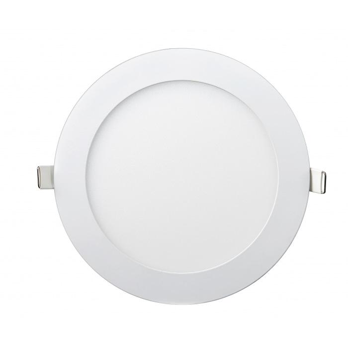 Даунлайты - Даунлайт светильник внутренний 12Вт 6400K круглый Lezard 000001015 - Фото 1