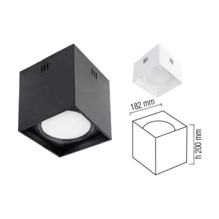 Даунлайты - Светодиодный светильник SANDRA-SQ15/XL  белый 000001179 - Фото 2