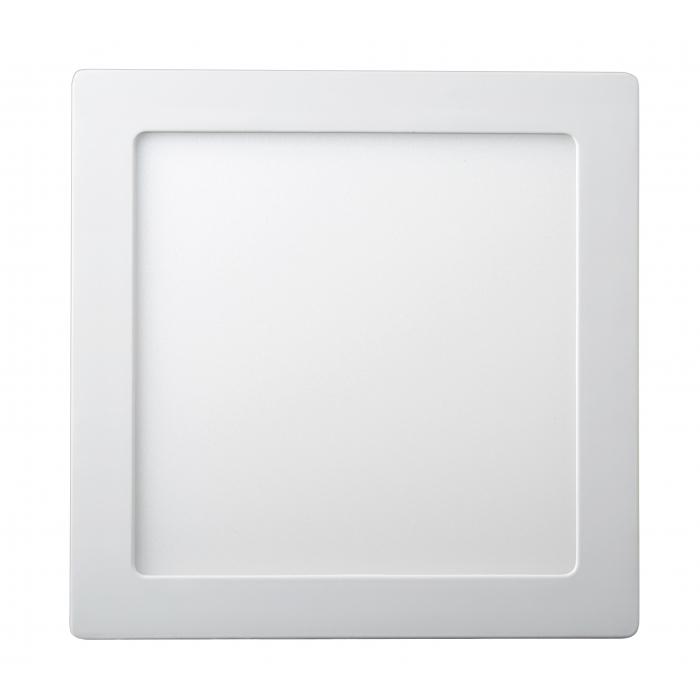 Даунлайты - Светильник даунлайт накладной 18Вт 4200K квадрат Lezard 000001123 - Фото 1