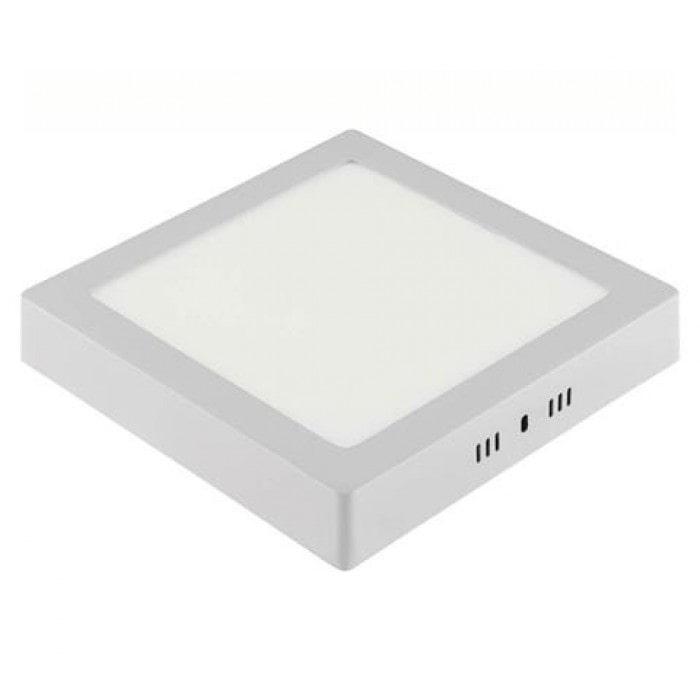 Даунлайты - Светильник квадрат накладной HOROZ 18W 6400К  000001116 - Фото 1