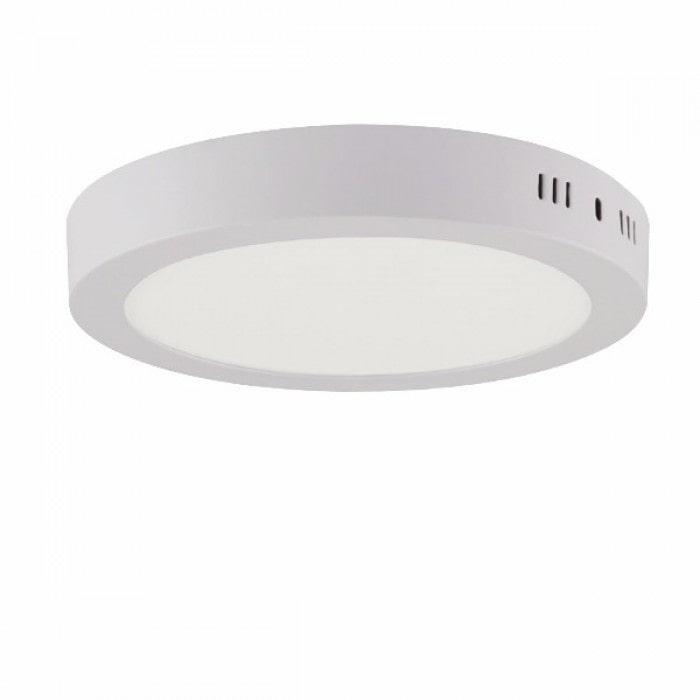 Даунлайты - Светильник круг накладной HOROZ 18W 4200К 000001101 - Фото 1