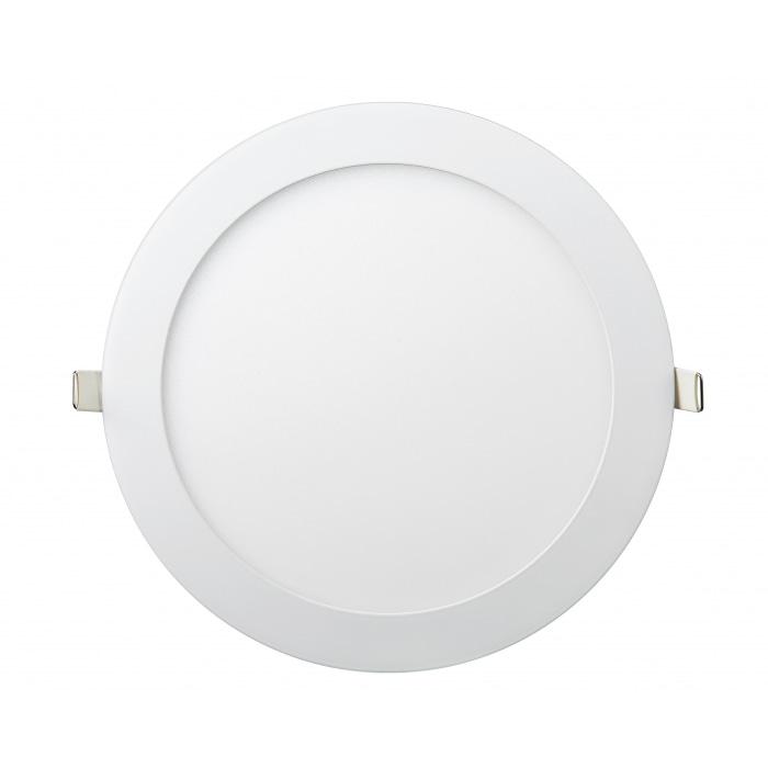Даунлайты - Даунлайт светильник внутренний 24Вт 6400K круглый Lezard 000001017 - Фото 1