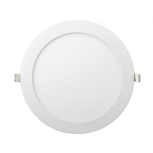 Даунлайты - Даунлайт светильник внутренний 24Вт 4200K круглый Lezard 000001000 - Фото 1
