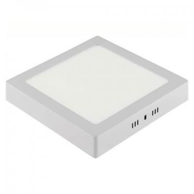 Даунлайты - Светильник квадрат накладной HOROZ 28W 6400К 000001118 - Фото 1