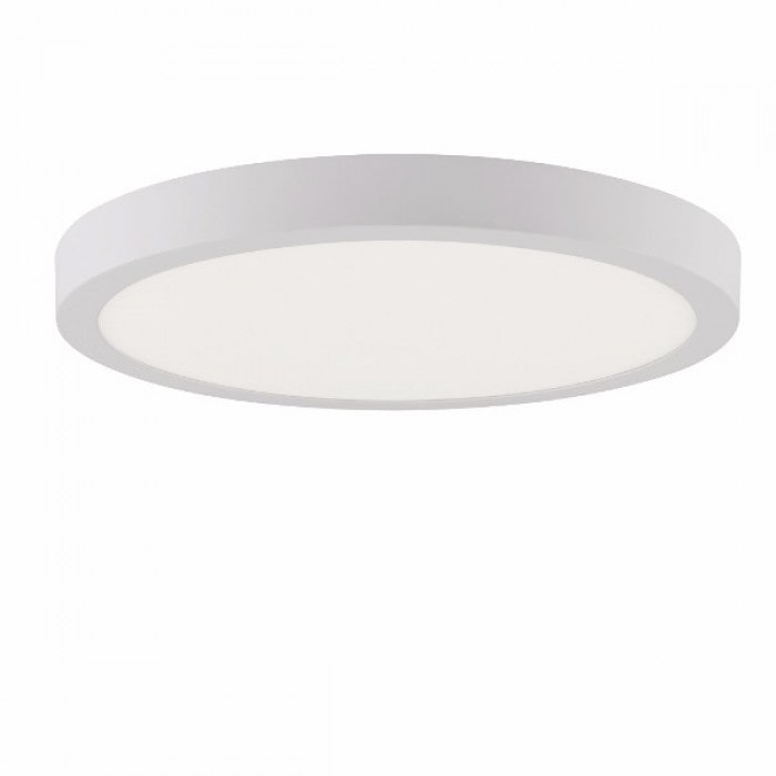 Даунлайты - Светильник круг накладной HOROZ 28W 6400К  000001104 - Фото 1