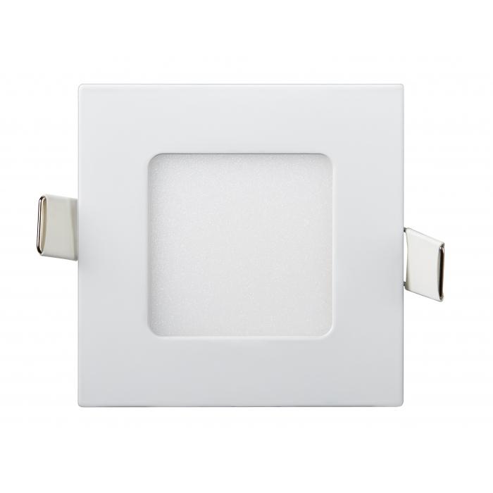 Даунлайты - Светильник Downlight внутренний 3Вт 4200K квадрат Lezard 000001087 - Фото 1