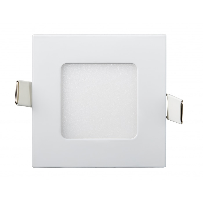 Даунлайты - Светильник Downlight внутренний 3Вт 6400K квадрат Lezard 000001107 - Фото 1