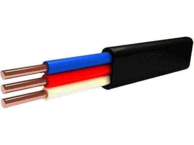 Кабель и провод - Силовой Кабель ВВГ-П нгд 3х4 000001023 - Фото 1
