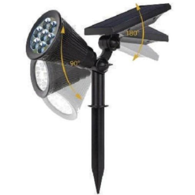 для сада и дачи - LED светильник в землю на солнечной батарее VARGO 3W SMD 000000589 - Фото 2