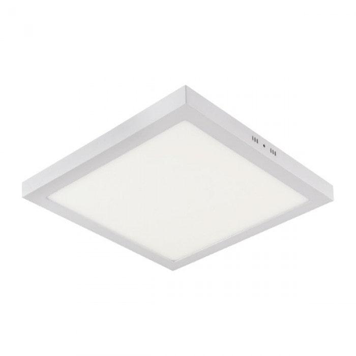 Даунлайты - Светильник квадрат накладной HOROZ 32W 4200К  000001119 - Фото 1