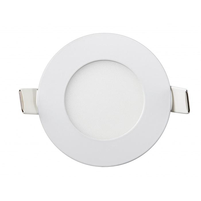 Даунлайты - Даунлайт светильник внутренний 3Вт 6400K круглый Lezard 000001012 - Фото 1
