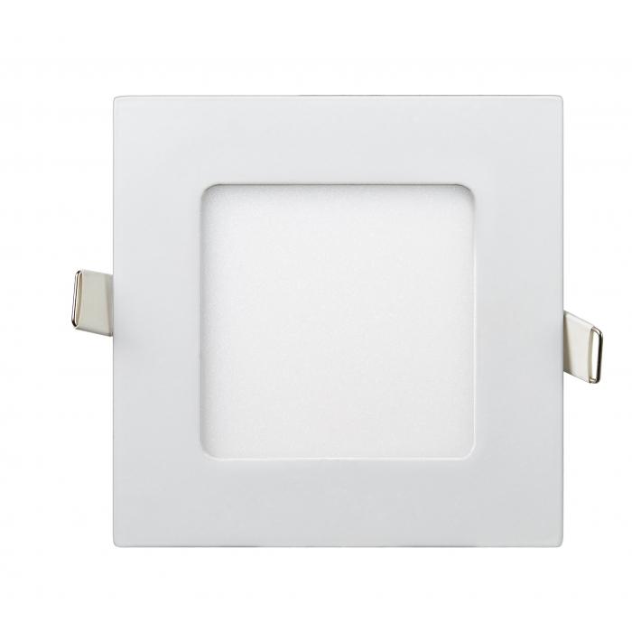 Даунлайты - Светильник Downlight внутренний 6Вт 4200K квадрат Lezard 000001088 - Фото 1