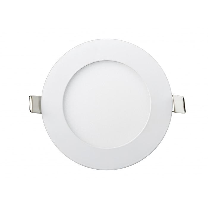 Даунлайты - Даунлайт светильник внутренний 6Вт 6400K круглый Lezard 000001013 - Фото 1