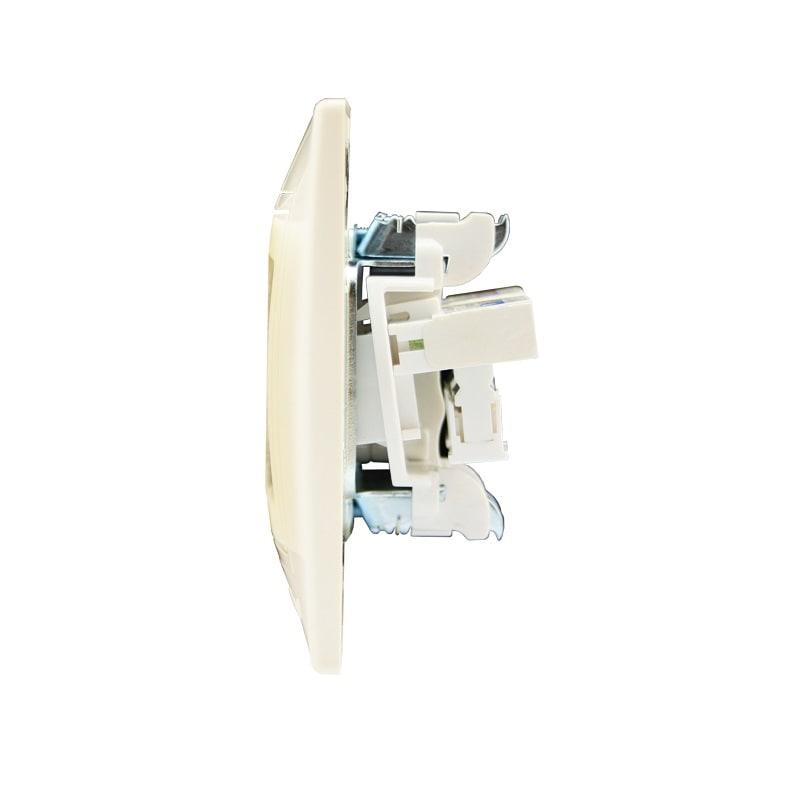 Розетки і вимикачі - Розетка телефонная двойная Lezard серия Mira 000000706 - Фото 2