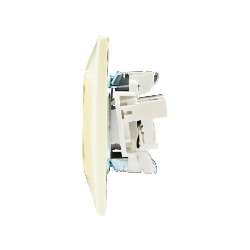 Розетки і вимикачі - Розетка компьютер+телефон Lezard серия Mira 000000709 - Фото 2