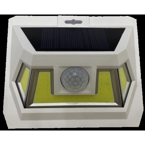 для сада и дачи - LED настенный светильник на солнечной батарее VARGO 8W COB бел. 000000600 - Фото 3