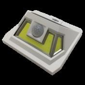 LED настенный светильник на солнечной батарее VARGO 8W COB бел. 000000600 4